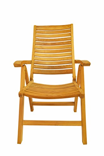 Anderson Teak Carina 5-Position High-Back Recliner - ()