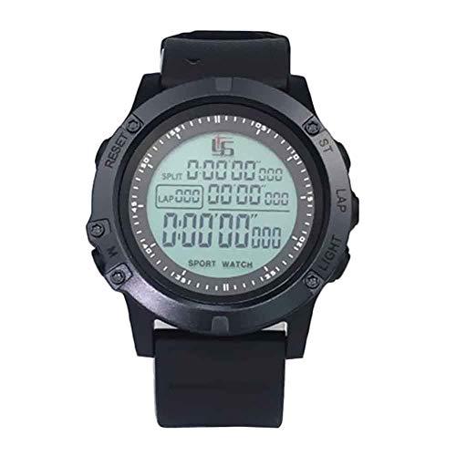 MOOUK Digitale Sport Stopwatch Timer, Voetbal Stop Horloge Timer Casual Lichtgevende Stopwatch Alarm Voetbal Horloge…
