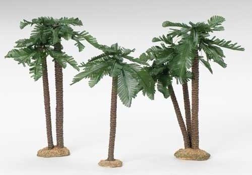 - Fontanini 9-12 Inch High Palm Tree Set 56830