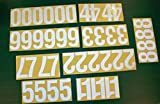 Address America 44 Reflective 4'' Numbers Peel & Stick