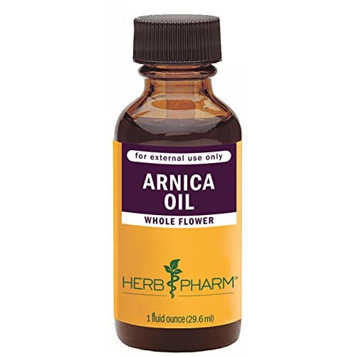 New Herb Pharm Certified Organic Arnica Oil - 1 Ounce for sale