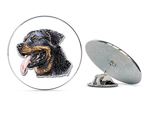 BRK Studio Rottweiler Round Metal 0.75