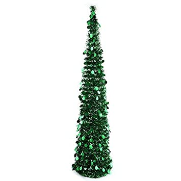 Image Unavailable - Amazon.com: PartyTalk 5ft Pop Up Christmas Tree With Stand, Green