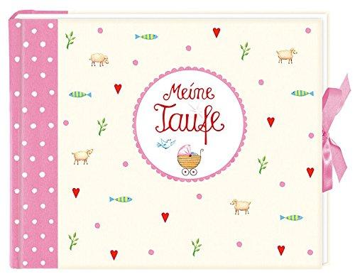 Meine Taufe (rosa): Eintragalbum (Eintragbücher) Gebundenes Buch – 1. August 2012 Anne Mußenbrock Coppenrath B0081TMY42 Geschenkband