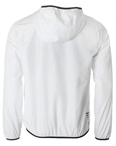 Ea7 Core Nylon Hooded Jacket XL WHITE