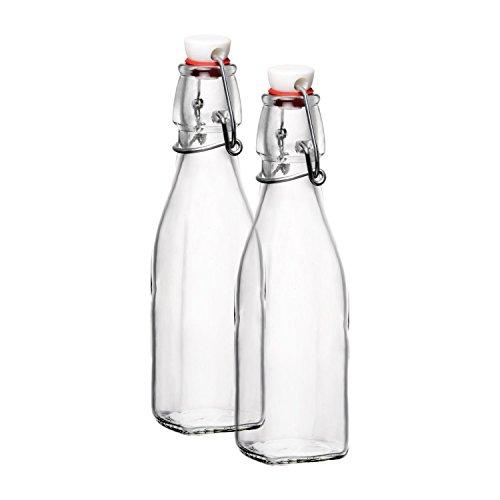Bormioli Rocco Square Swing Bottle