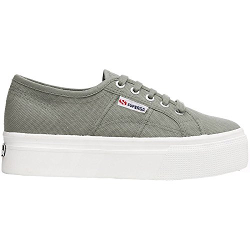 Superga Womens 2790 Acotw Linea up and Down Canvas Trainers Grau (Grey Sage)