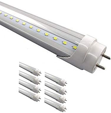 """DIMMABLE Clear G13 T8 4FT 48/"""" Warm 18W Fluorescent Replacement LED Tube Lights"""