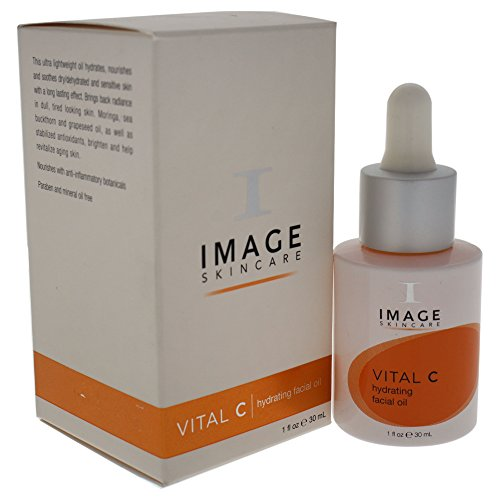 IMAGE Skincare Vital C Hydrating Facial Oil,  1 Fl Oz (Image Vitamin C Hydrating Mask)