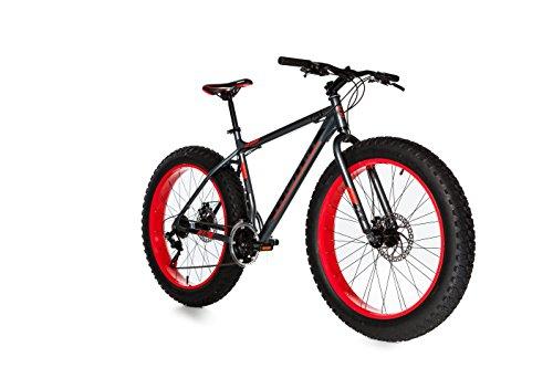 🥇 Moma Bikes Bicicleta Montaña  FAT 26″Alu