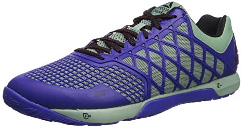 Reebok Men's CROSSFIT Nano 4.0 Cross Trainer, Industrial Green/Ultima Purple/Black/Primal Red, 11 M US
