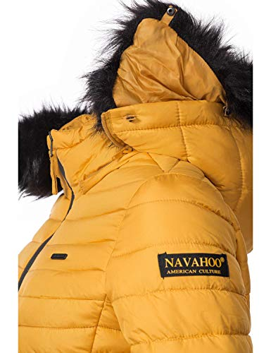 Navahoo Chaqueta Navahoo Amarillo Chaqueta Para Mujer Para Para Navahoo Amarillo Chaqueta Mujer SqpRww
