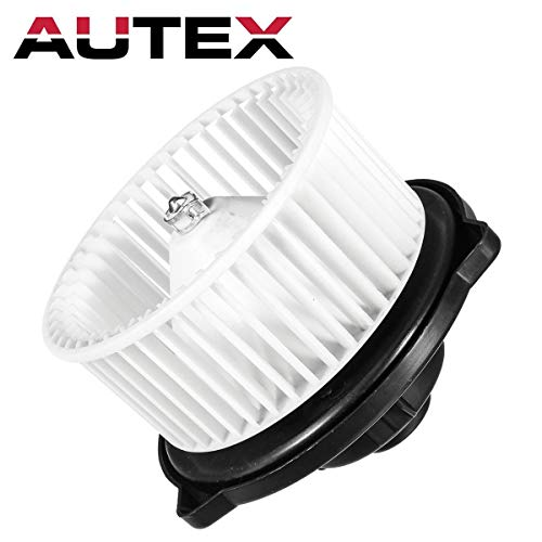 AUTEX HVAC Blower Motor Assembly Compatible with Toyota RAV4 96-00,Toyota Pickup 89-95,Toyota Tercel 91-99 Replacement for Mitsubishi Montero 92-00 Blower Motor Air Conditioner w/Fan Cage -