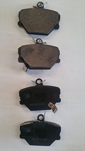 Cabriolet Brake Pad Set - PROFORCE CRD1252 True Ceramic Disc Brake Pads Set (Both Left and Right) - Front