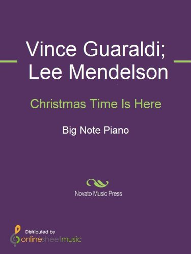 Christmas Time Is Here Piano.Christmas Time Is Here