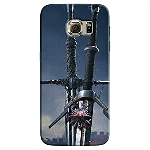 Cover It Up - Witcher Blades Galaxy S7 Hard Case