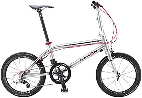 Dahon Clinch D10-Bicicleta Plegable 10 V, Color marrón: Amazon ...