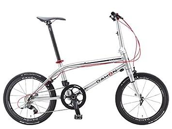 Dahon Clinch D10-Bicicleta plegable 10 V, color marrón