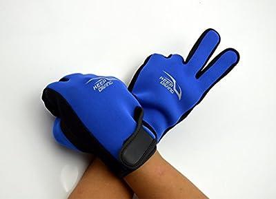 2mm Neoprene Scuba Diving Gloves Water Sport Gloves Snorkel Gloves Kayaking Gloves for Surfing Five Finger Glove for Men and Women