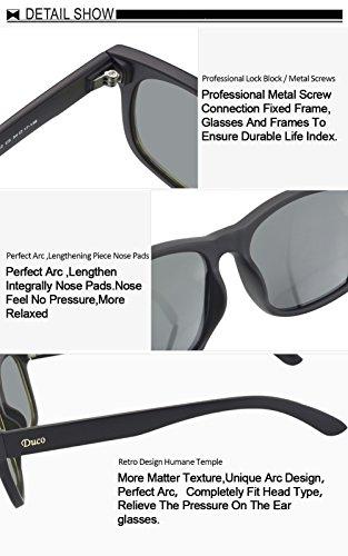 rétro Wayfarer Revo de Bleu Duco classique TR90 Polarized UV400 2142 de soleil lunettes lunettes soleil gExOdRnOq