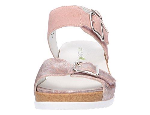 202 Donna H 202 Larghezza Hilda Sandalo pink Rosa Waldläufer 933005 fwOqfB