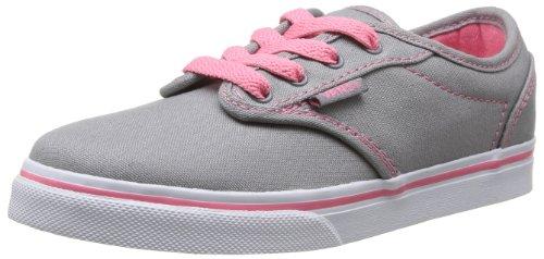 Vans - Atwood Low, Zapatillas Niñas, Gris (canvas/grey/pink Lemonade), 35 EU Grey/Pink Lemonade