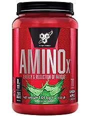 BSN Nutrition Amino X, Suplementos Deportivos BCAA Polvo con Aminoacidos Esenciales y Vitamina D, Aminoacidos BCAA para Musculacion, Manzana Verde, 70 Porciones, 1kg