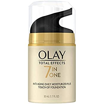 CC Cream by Olay, Total Effects Daily Moisturizer + Touch of Foundation, 50 mL