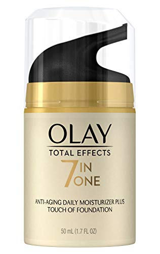 Oil Olay Moisturizer Foundation - CC Cream by Olay, Total Effects Daily Moisturizer + Touch of Foundation, 50 mL