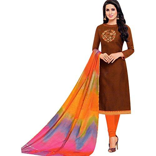 Womens Blended Silk Handworked Salwar Kameez with Banarasi Dupatta Womens Indian Pakistani Dress Ready to wear Salwar (Salwar Kameez Dupatta)