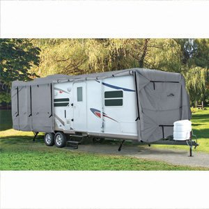 Camco 45846 ULTRAGuard 34' Class C/Travel Trailer Kit with 4 Arctic White 30