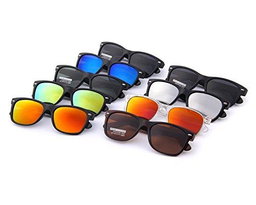 MERRY'S Retro Rewind Classic Polarized Wayfarer Sunglasses S683 (MatteBlack, 53)