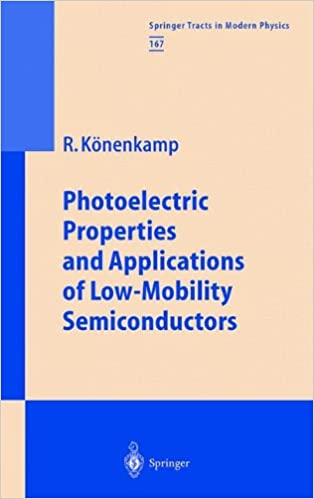 Photoelectric Properties and Applications of Low-Mobility Semiconductors (Springer Tracts in Modern Physics) Softcover reprint of the original 1st ed.