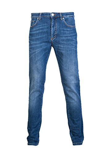 Versace Collection Slim Fit Mid Wash Jeans W36