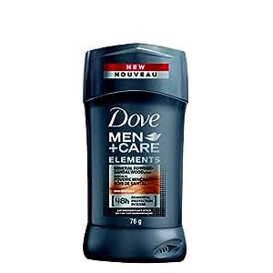 Dove Men Care Elements Mineral Powder Plus Sandalwood Stick Antiperspirant Deodorant, 120 Gram