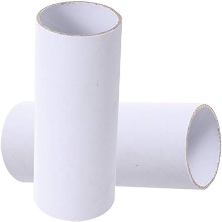 White SUPVOX 15 PCS Cardboard Tubes Paper Craft Rolls for DIY Craft