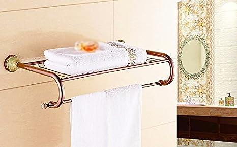GBHNJ Toallas De Baño Baño De Piedra De Jade Cristal Color Oro Rosa: Amazon.es: Hogar