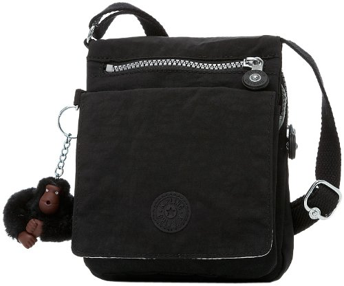 Kipling Eldorado Small Shoulder Bag, Black, One Size, Bags Central