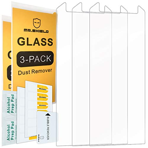 [3-Pack]-Mr.Shield for Cat S48c [Tempered Glass] Screen Protector with Lifetime - Case Big Protector Cat