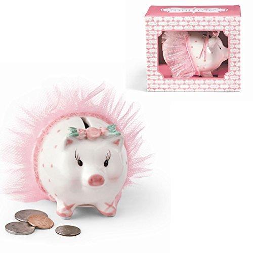 Mud Pie Dancer Ballerina Piggy