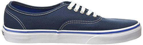 Vans Unisex Authentic Skate Shoe Midnight Navy/True White vqbMrJceBa