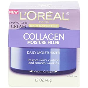 L'Oreal Paris Collagen Moisture Filler Day/Night Cream (Pack of 3)