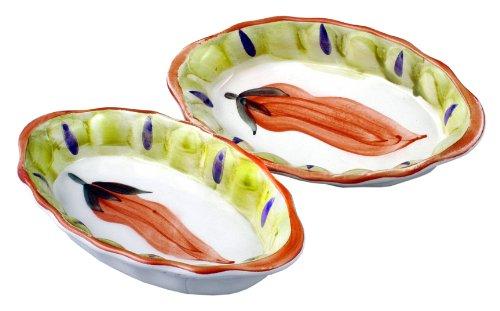 European Gift & Housewares El Santana Au Gratin Bowls, Set of 2 2364 064Z-RS