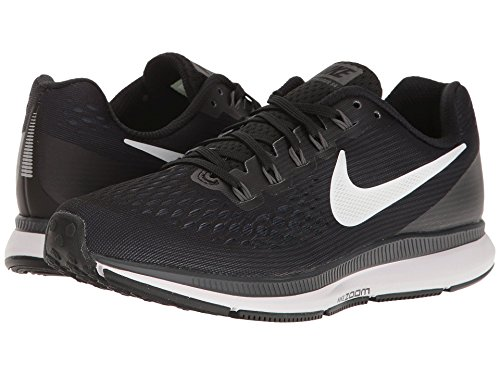 NIKE Running Black Pegasus Zoom 34 White Grey Air Shoe Women's rwq0SrxX