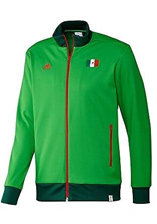: Adidas Uomini È Il Messico Track Top Veri / Forest / Luce
