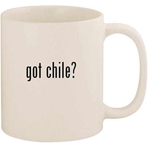 got chile? - 11oz Ceramic White Coffee Mug Cup, White