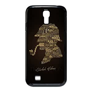Custom Sherlock Hard Back Cover Case for Samsung Galaxy S4 CF-810