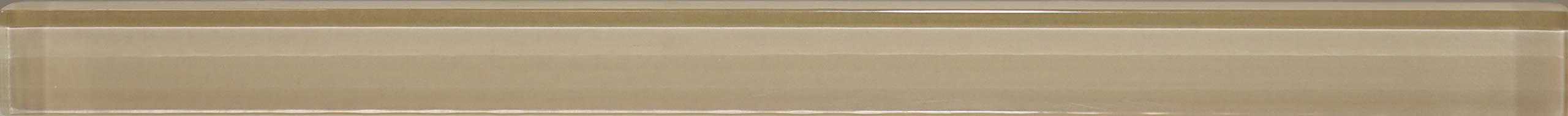 Manhattan 5/8X8 Glass Pencil Beige