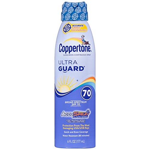 Coppertone ultraGUARD Continuous Spray Sunscreen 6