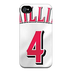 ShinnyStore Iphone 4/4s Well-designed Hard Case Cover Player Jerseys Protector